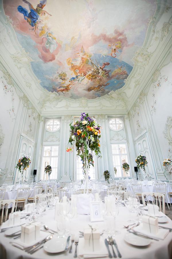 Traum Hochzeit im Freskensaal auf Schloss Halbturn