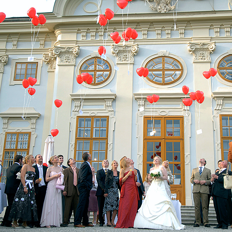Traumhochzeit auf Barock Schloss Halbturn