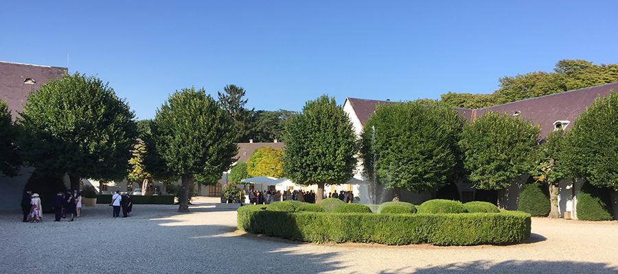 Agape bei Hochzeit auf Schloss Halbturn