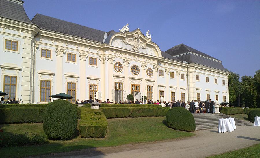 Hochzeit auf Schloss Halbturn