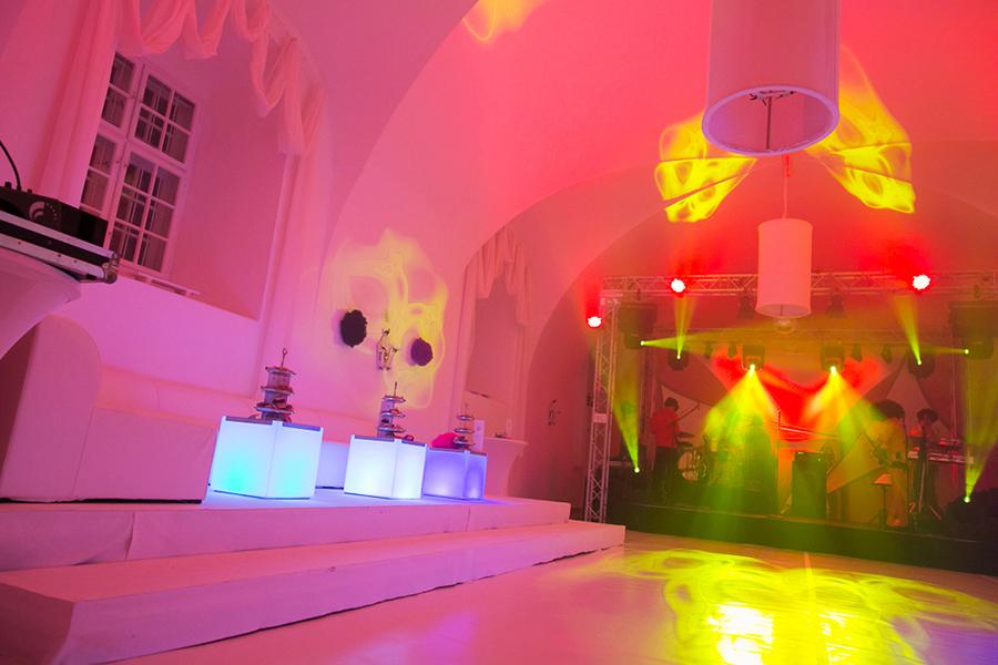 Party auf Schloss Halbturn