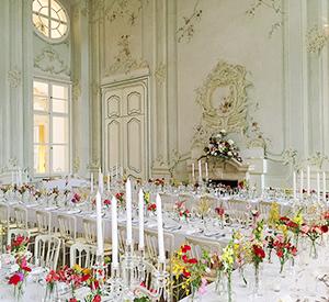 Heiraten im Freskensaal auf Schloss Halbturn