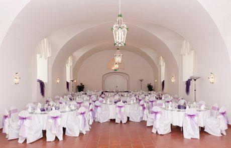 Hochzeit im Saal Maestoso auf Schloss Halbturn