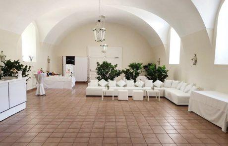 Hochzeit Lounge im Saal Neapolitano auf Schloss Halbturn