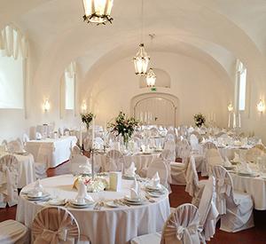 Hochzeit im Festsaal Maestoso auf Schloss Halbturn