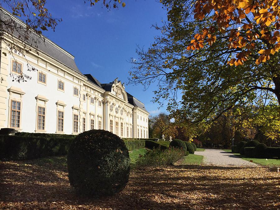 Herbststimmung auf Schloss Halbturn