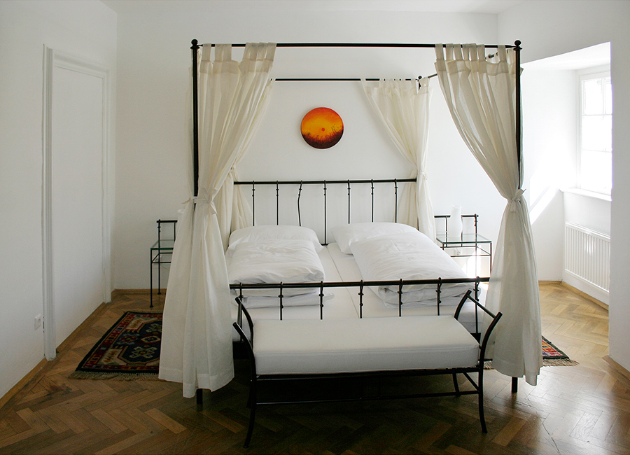 Schloss Halbturn Suite Imperial Schlafzimmer