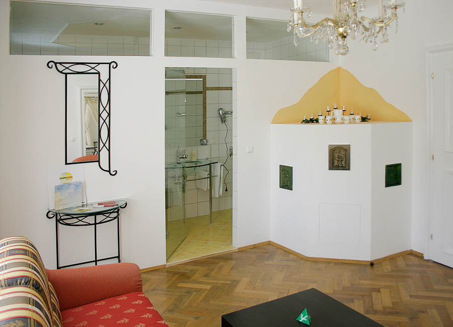 Schloss Halbturn Suite Imperial Wohnzimmer