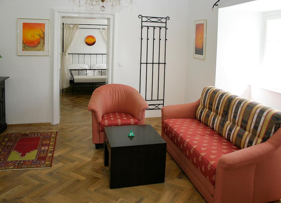 Schloss Halbturn Suite Imperial Wohnzimmer1